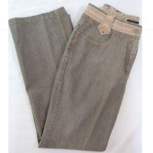 WilliSmith Jeans Light Grey with Embellishment